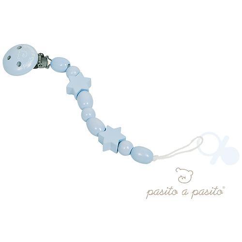 53905-SET PINZA CHUPETE ESTRELLA MADERA AZUL(12-0)-0