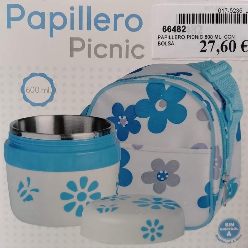 66482-PAPILLERO PICNIC 600 ML. CON BOLSA(6-0)-1