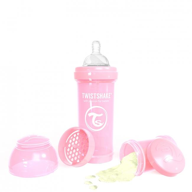 87237-TWISTSHAKE BIBERON ANTICOLICO 260 ML ROSA PASTEL(15-0)-1