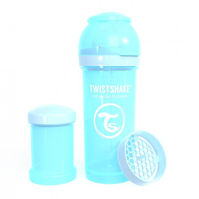 87238-TWISTSHAKE BIBERON ANTICOLICO 260 ML AZUL PASTEL(13-0)-0