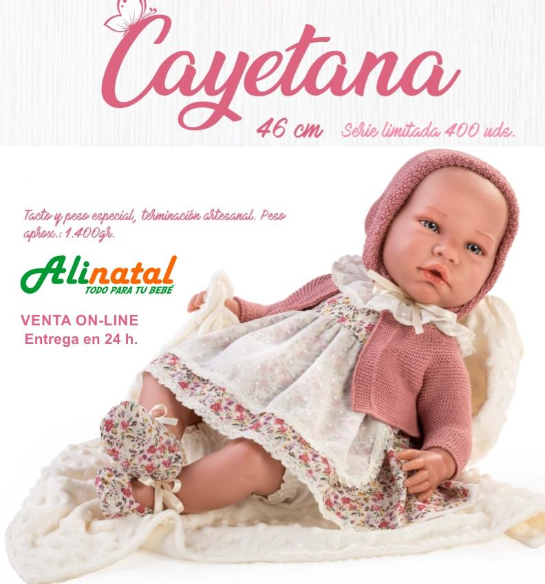 MUÑECA CAYETANA SERIE LIMITADA ASI-89582.0.0-0