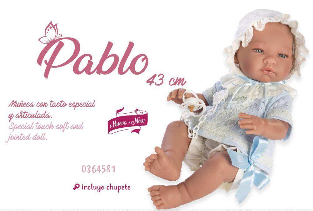 NOVEDAD ASI MUÑECO PABLO 43 CM.-90734.4.0-0