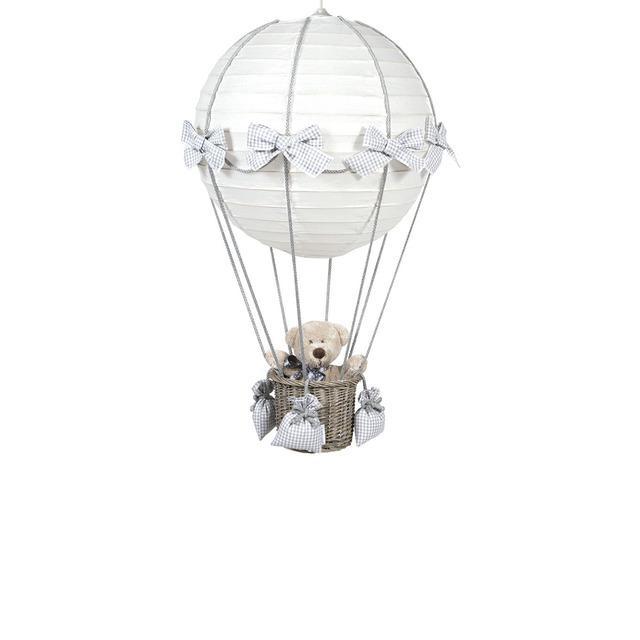 LAMPARA GLOBO VICHY GRIS PASITO A PASITO-91402.1.0-0