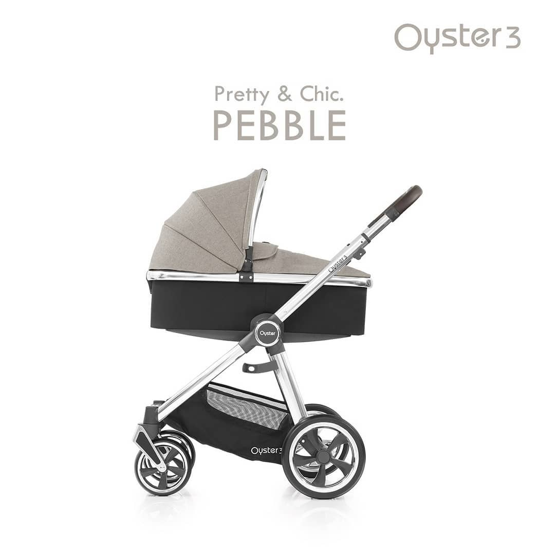 COCHE DUO OYSTER 3 PEBBLE-91993.1.0-0