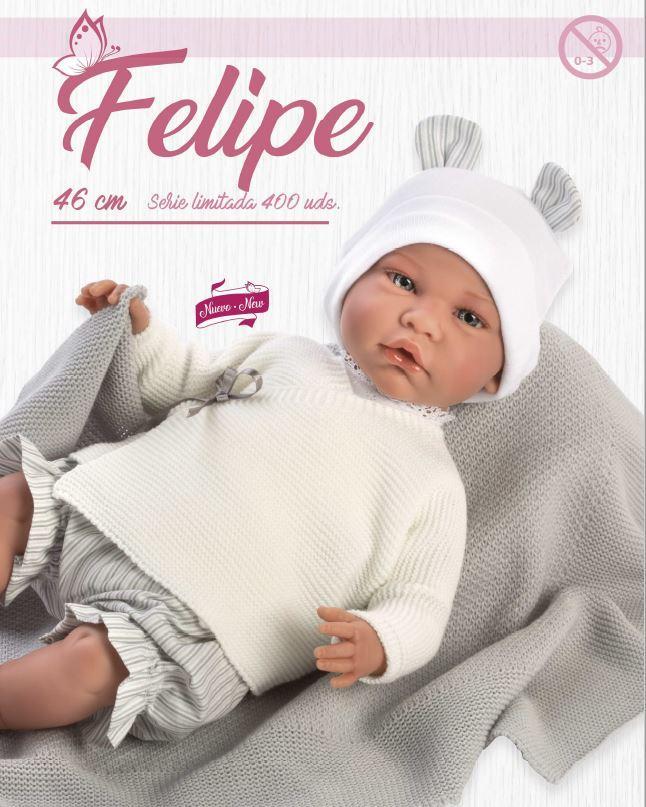 MUÑECO FELIPE SERIE LIMITADA ASI-92944.5.0-0