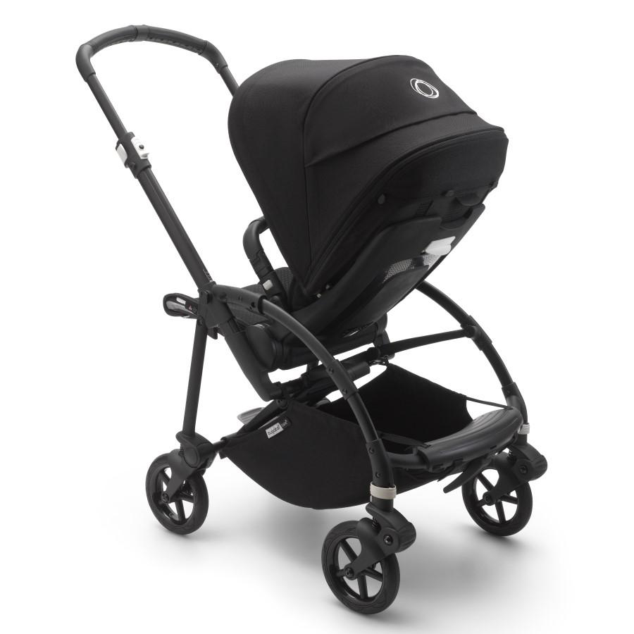 BUGABOO BEE-6 CHASIS NEGRO - TEXTIL NEGRO-94779.0.0-1