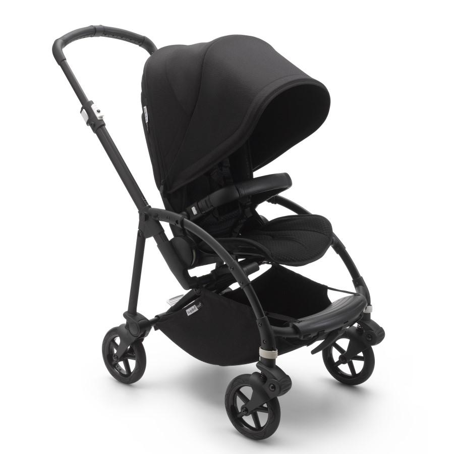 BUGABOO BEE-6 CHASIS NEGRO - TEXTIL NEGRO-94779.0.0-0