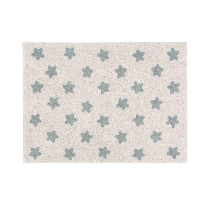 95183-ALFOMBRA 120 X 160 STARS NATURAL BLUE(2-0)-0