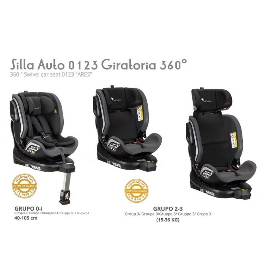 96125-SILLA COCHE ARES GR. 0-1-2-3(1-0)-3