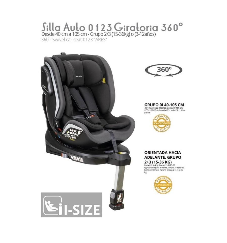 96125-SILLA COCHE ARES GR. 0-1-2-3(1-0)-4